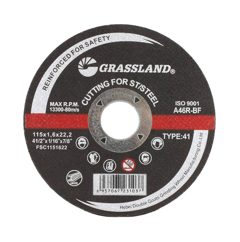 "Cutting Disc, Stainless Steel Freehand Cut-off wheel - 4-1/2"" x 1/16"" x 7/8"" - T41"