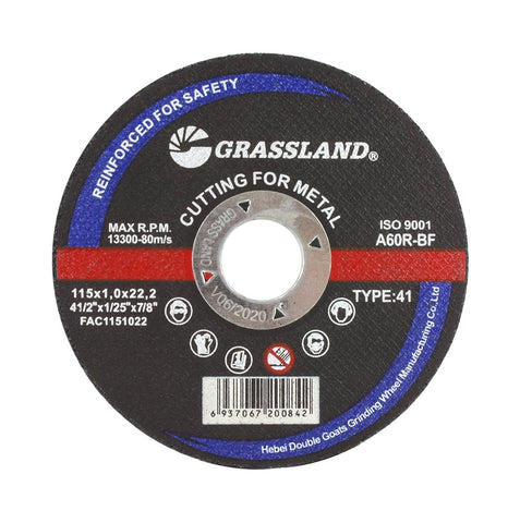 "Cutting Disc, Steel Freehand Cut-off wheel - 4-1/2"" x 0.04"" x 7/8"" - T41"