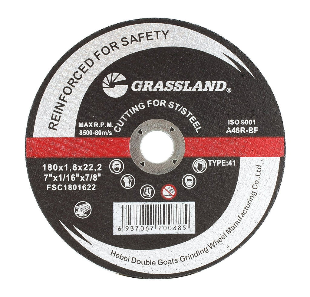 "50 Pack 7/""x1//16/""x7//8/"" Cut-off Wheel Metal /& Stainless Steel Cutting Discs"