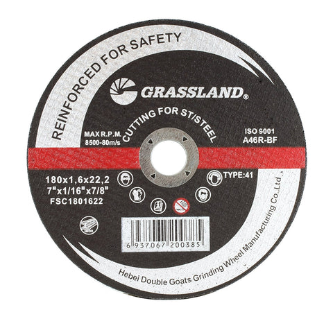 "Cutting Disc, Stainless Steel Freehand Cut-off wheel - 7"" x 1/16"" x 7/8"" - T41"