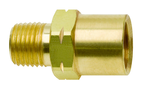 "Water Hose Adaptor 5/8"" LH Female x 1/4"" NPT Male for Water-Cooled TIG Torches - Model: AW-15"