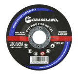 "Cutting Disc, Steel Freehand Cut-off wheel - Depressed Center - 4-1/2"" x 1/16"" x 7/8"" - T42"