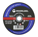 "Cutting Disc, Steel Freehand Cut-off wheel - Depressed Center - 7"" x 1/16"" x 7/8"" - T42"