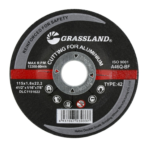 "Cutting Disc, Aluminum Freehand Cut-off wheel - Depressed Center - 4-1/2"" x 1/16"" x 7/8"" - T42"