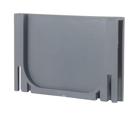 End Cap for Gray Plastic Drain UA-100 Series