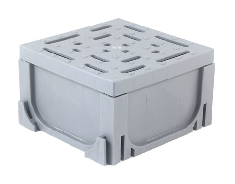 Four-Way Connector for Gray Plastic Drain UA-100 Series