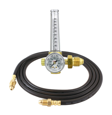 VICTOR Flowmeter Regulator for Argon, Argon/CO2 and Helium. For TIG and MIG Welders, Model: GRF400-580
