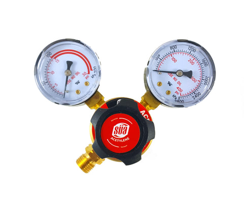 SÜA - Regulator Welding Gas Gauges - Rear Connector - LDP series