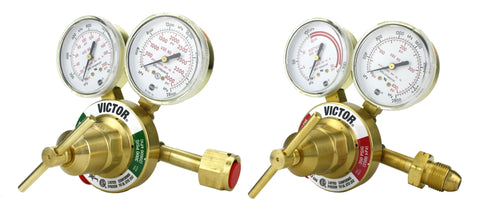 VICTOR Heavy Duty Regulator Model: 350 - Full Brass