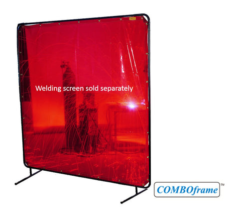 COMFOframe™Adjustable Frame for Welding Screens - 6'x 8' and 6' x 6'- (Frame Only)