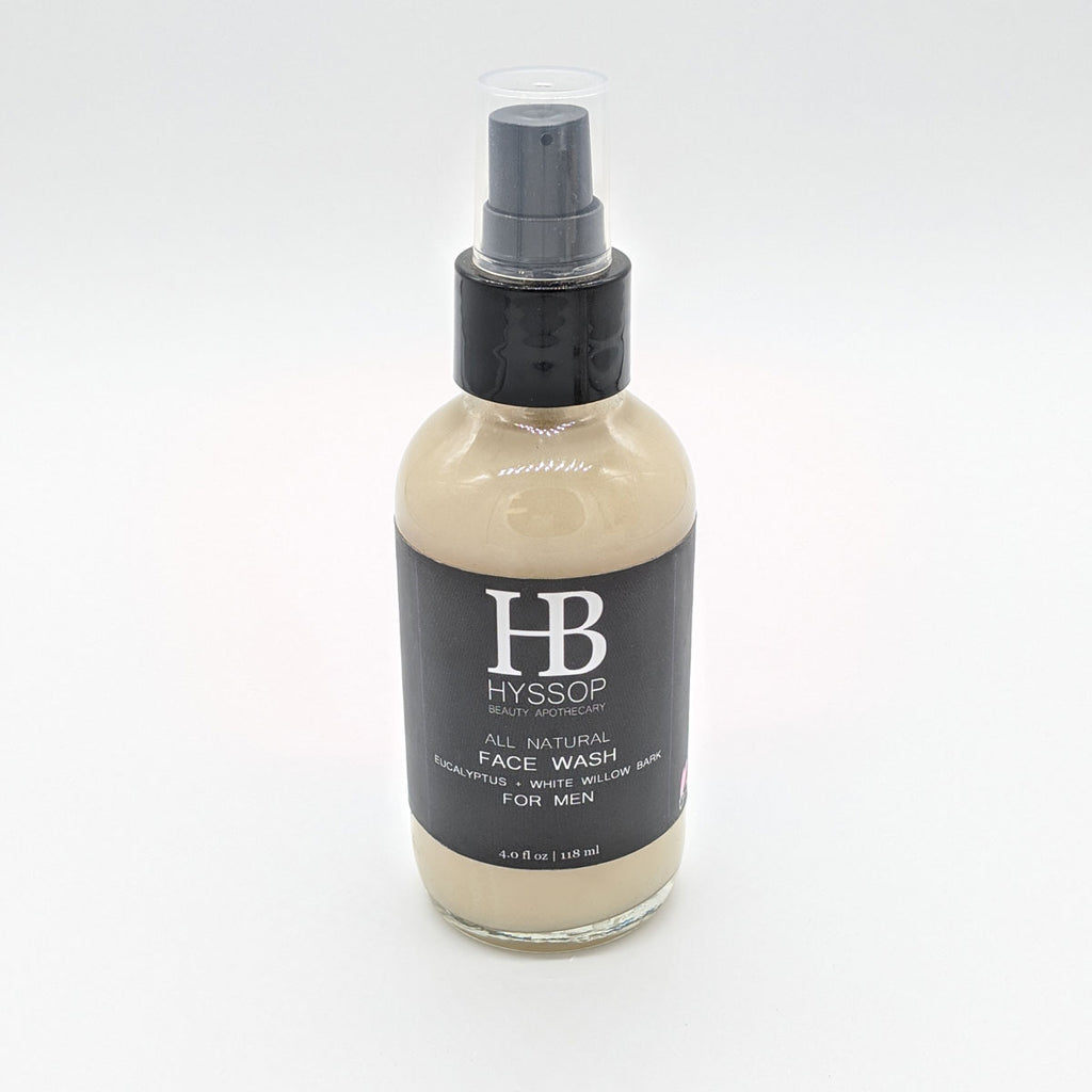 Eucalyptus + White Willow Bark Face Wash For Men