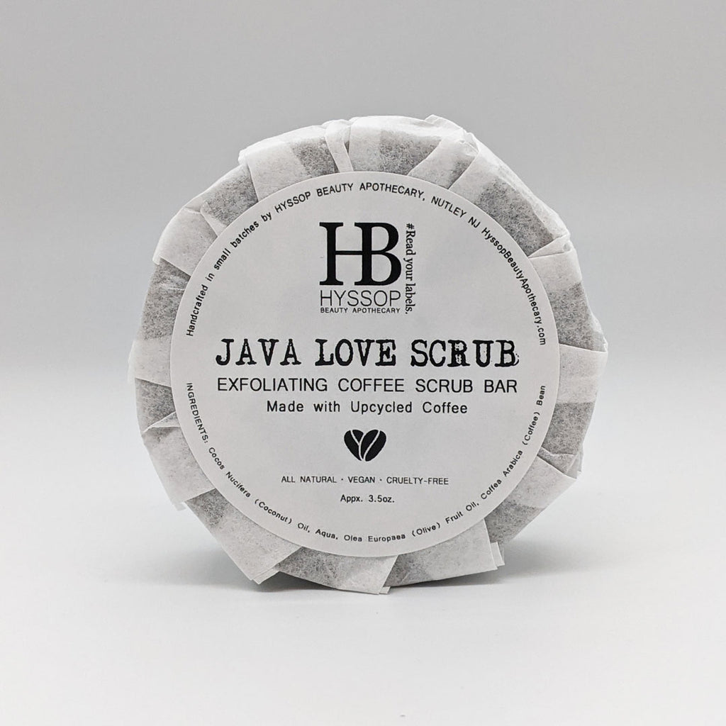 Java Love Scrub | All Natural Exfoliating Coffee Scrub Bar