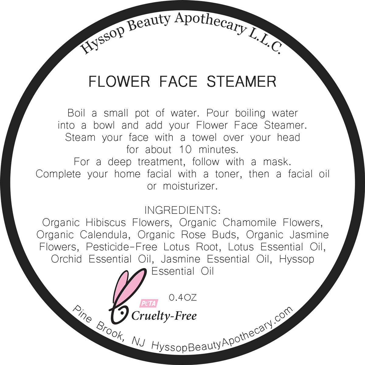 Moisturizing Flower Face Steamer