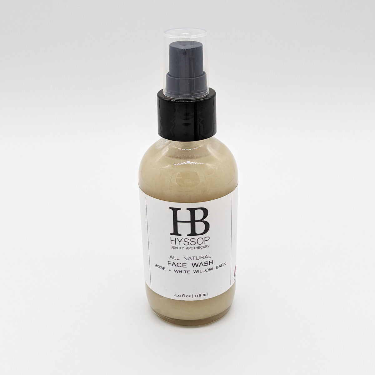 Rose + White Willow Bark Face Wash