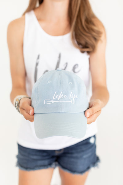 Lake Life Blue Hat