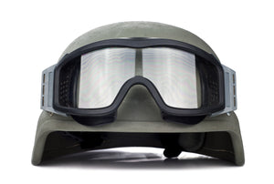 How effective is the ballistic helmet?