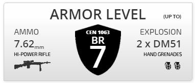 Armored Level 7 Car