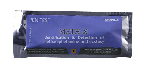 Mistral 1448 Meth-X Drug Detection Pen Test (Box of 10 Tests)