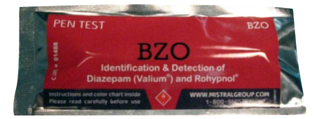 Mistral 1488 BZO Drug Detection Pen Test (Box of 10 Tests)