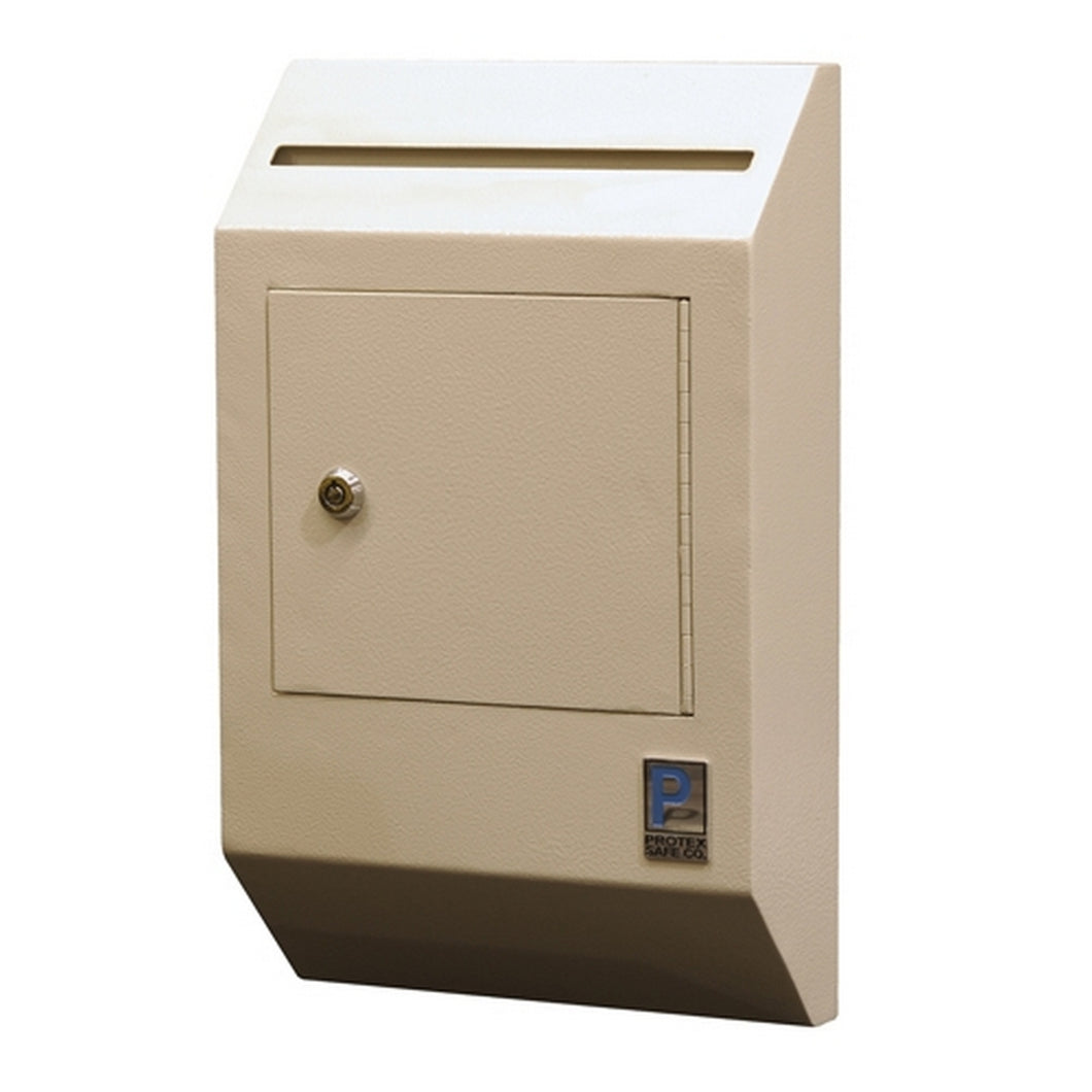 Protex Safe WDB-110E Letter Size Wall Drop Box w/ Electronic Lock - Security Pro USA