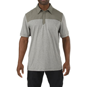 5.11 Tactical 71351 Men Rapid Short Sleeve Polo Sage Green