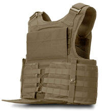 SecPro Gladiator Tactical Vest Level IIIA - Tan (Cummerbund)