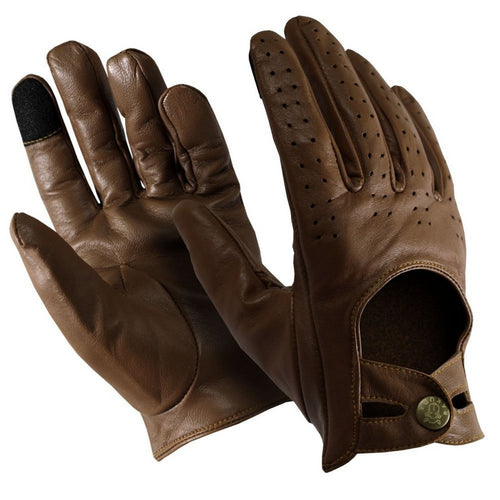 Rakuda Luxury Men's Leather Texting Touch Screen Unisex Gloves