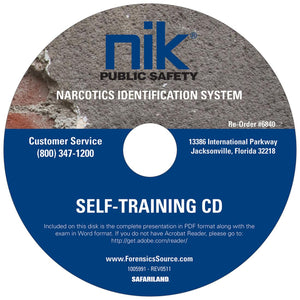 Drug Tests | NIK 1005991 Drug Test Self-Training CD