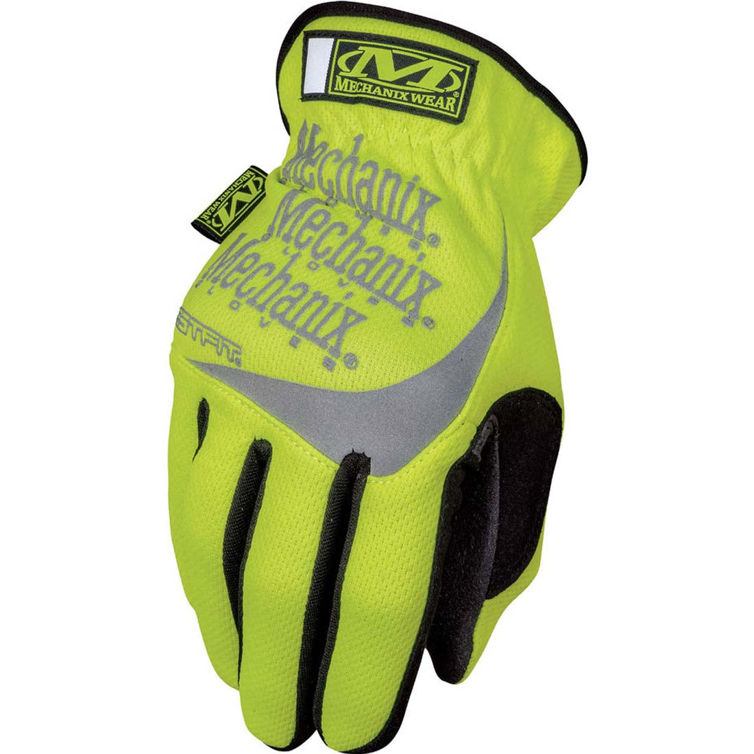 Mechanix Wear SFF-91-008 Hi-Viz Yellow FastFit  Safety Gloves - Small