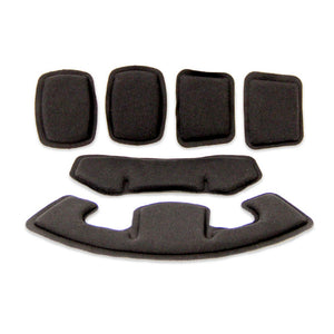 Team Wendy 72-CFP-BK EXFIL Carbon Ltp Helmet Comfort Pad Replacement Kit