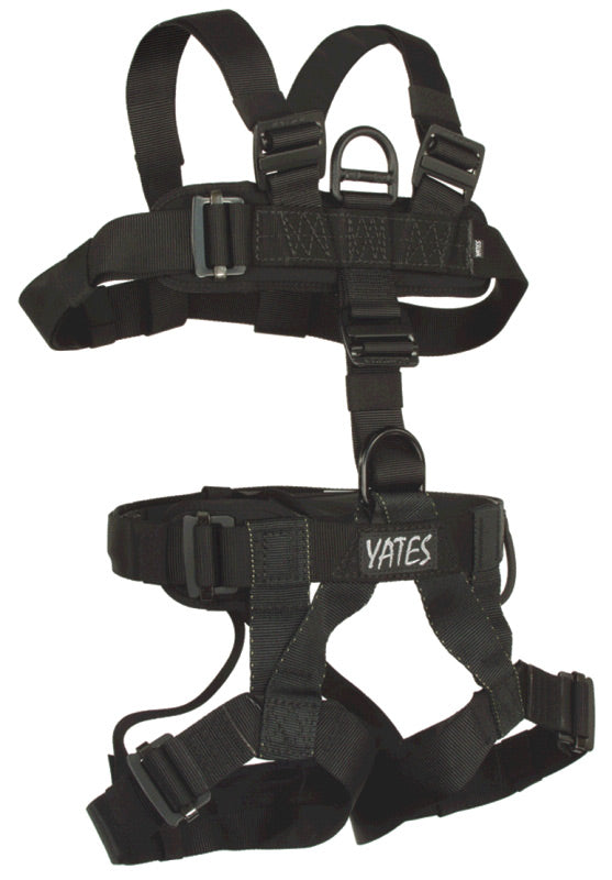 Yates 352A Padded Lightweight Assault Full Body Harness