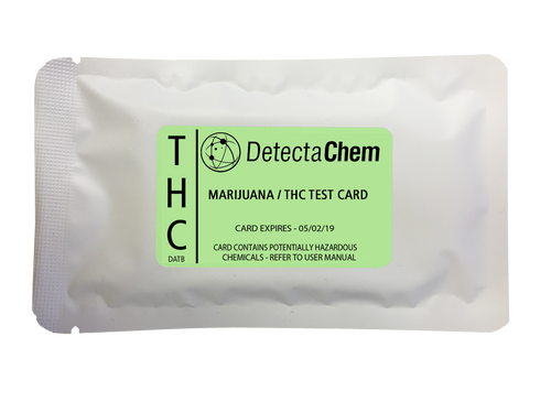 DetectaChem Marijuana/THC Detection Card (Box of 100)