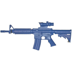 Blueguns FSM4CFTRCSACOG M4 COMMANDO Flat Top Closed Stock, Fwd Rail, ACOG Sight