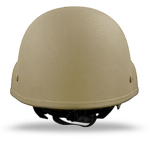 MICH Ach Helmet Level IIIA - Tan Rear