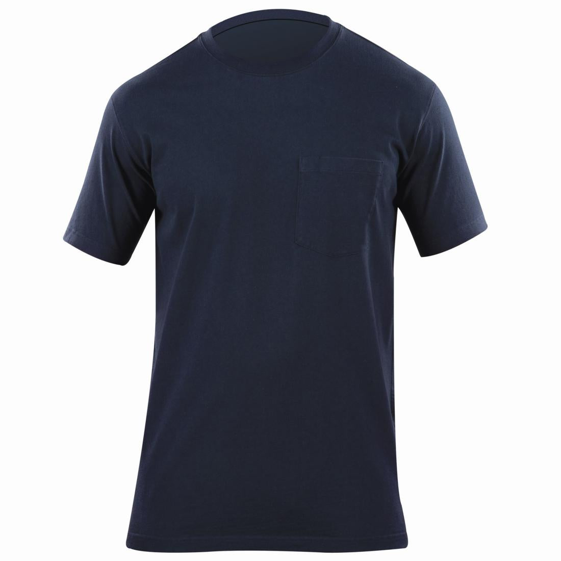 5.11 Tactical 71307 Men Professional Pocketed T-Shirt Fire Navy