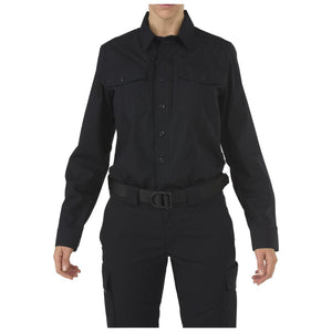 5.11 Tactical 62010 Women's Stryke Class-B PDU Long Sleeve Shirt Midnight Navy