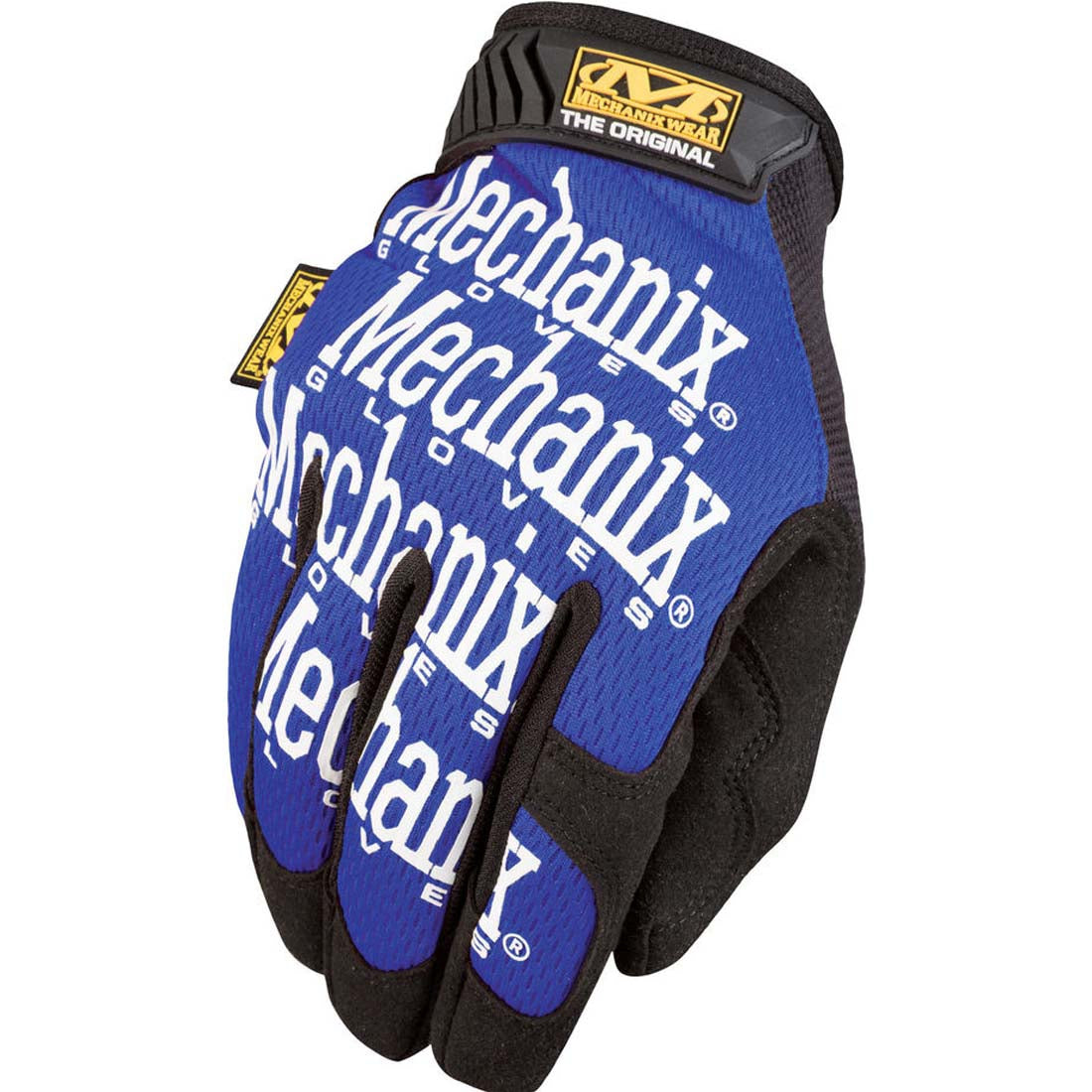Mechanix Wear MG-03-008 Blue The Original Work Gloves - Small