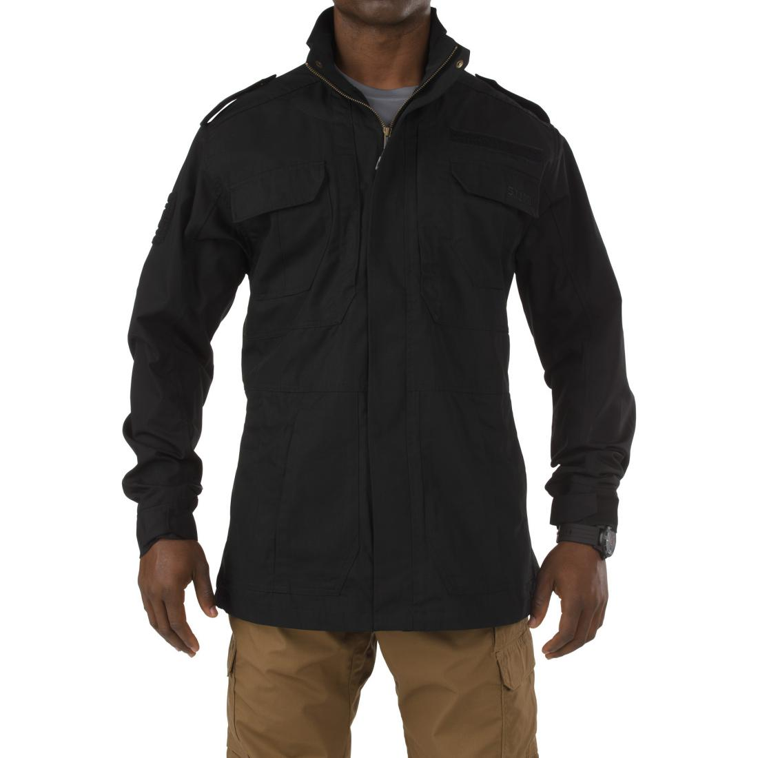 5.11 Tactical 78007 Men Taclite M-65 Jacket Black