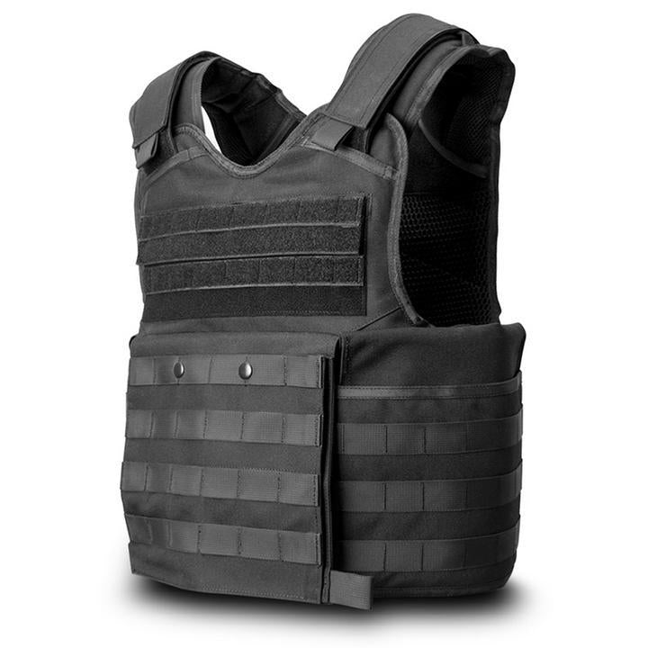 SecPro Gladiator Tactical Bulletproof Assault Vest - Black