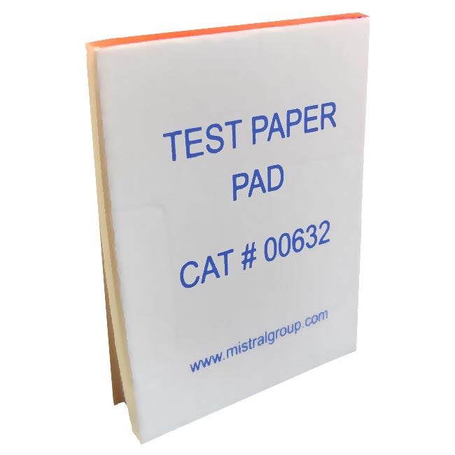 Mistral 0632 Test Paper Pad | Forensic Supplies