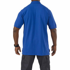 5.11 Tactical 41060 Men Professional Short Sleeve Polo Academy Blue