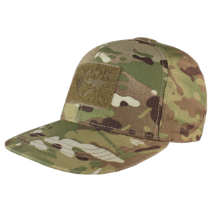 Condor Flat Bill Snap Back Hat Multicam