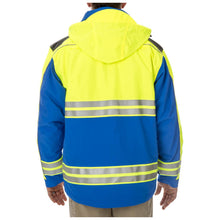 5.11 Tactical 48073 Men Responder High-Visibility Parka Royal Blue