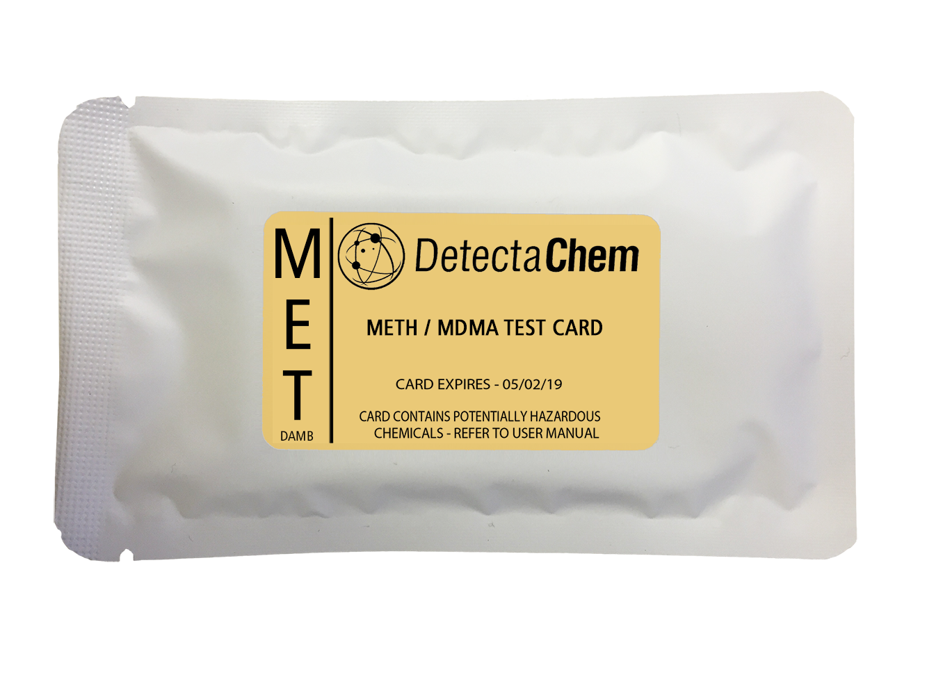 DetectaChem Meth/MDMA Detection Card (Box of 100)