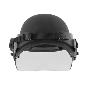 ACH Ballistic Helmet with Riot Face Shield