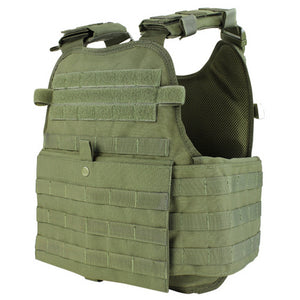 condor plate carrier mopc - OD green