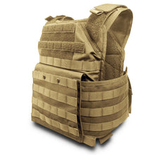 Spartan Tactical Plate Carrier Bulletproof Vest Tactical Ballistics - Tan