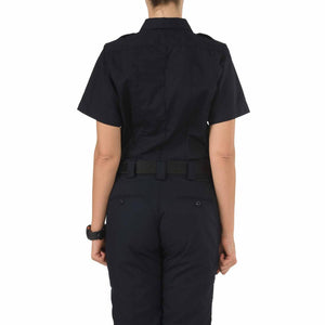 5.11 Tactical 61167 Women's Taclite PDU Class-A Short Sleeve Shirt Midnight Navy