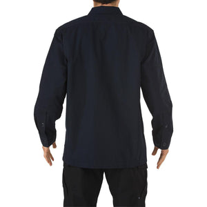 5.11 Tactical 72002 Men TDU Long Sleeve Shirt Dark Navy