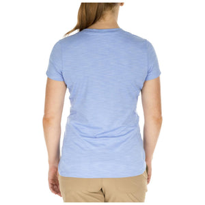 5.11 Tactical 61306 Women's Zig Zag V-Neck Skyway